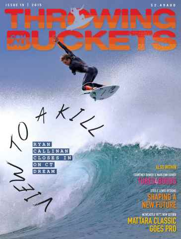 Throwing Buckets issue ISSUE 19 - 2015