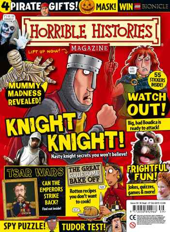Horrible Histories issue  Issue 39