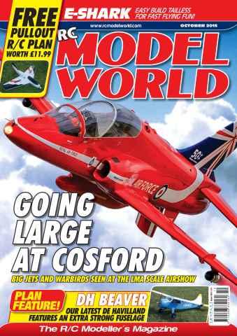 Radio Control Model World issue October 2015