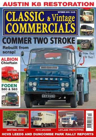 Classic & Vintage Commercials issue Vol. 21 No. 2 Commer two stroke