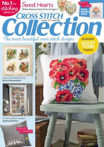 Cross Stitch Collection issue October 2015