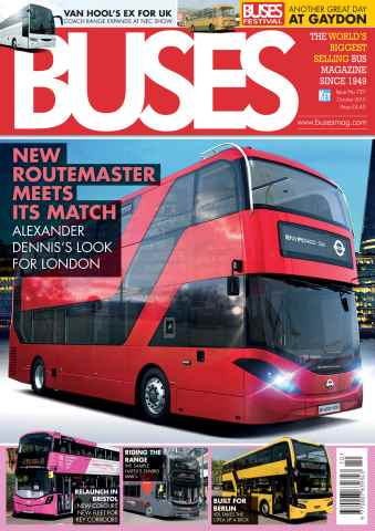 Buses Magazine issue October 2015