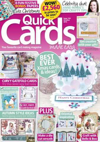 Quick Cards Made Easy issue October 2015