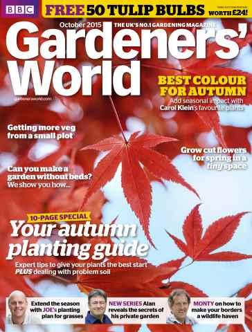 Gardeners' World issue October 2015