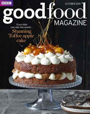 BBC Good Food issue October 2015