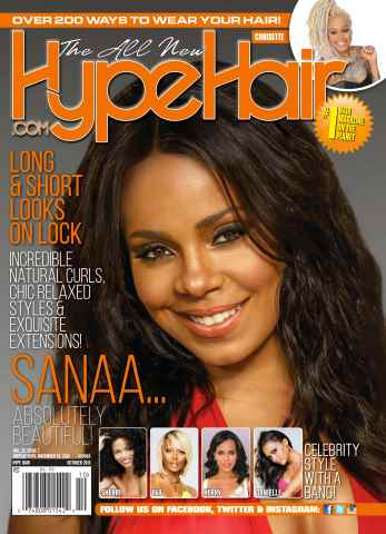 Hype Hair issue October 2015