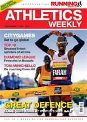 Athletics Weekly issue 17 September 2015