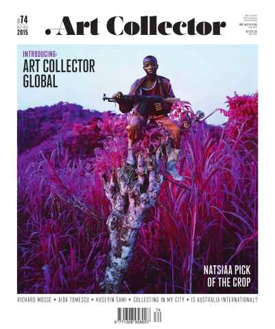 Art Collector issue Issue 74 Oct-Dec 15