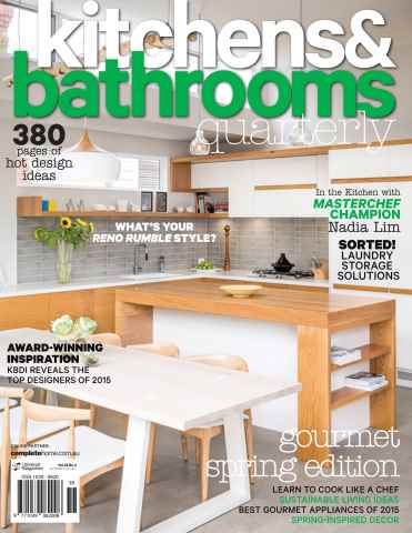 Kitchens & Bathrooms Quarterly issue Issue#22.3 Sep 2015