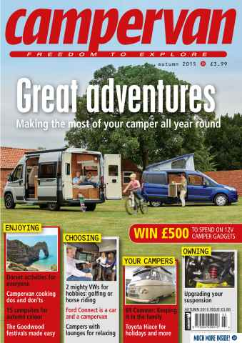 Campervan issue Autumn 2015