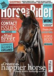 Horse&Rider Magazine - UK equestrian magazine for Horse and Rider issue Horse&Rider Magazine – November 2015