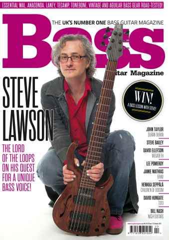 Bass Guitar issue October 2015