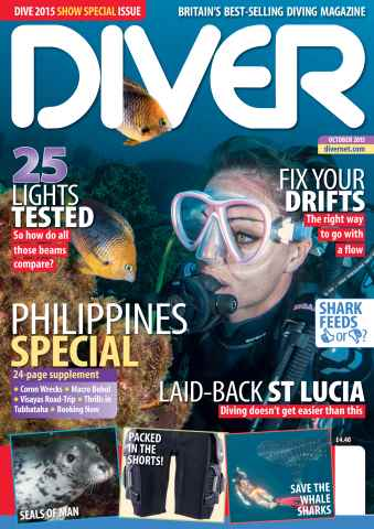 DIVER issue OCTOBER 2015