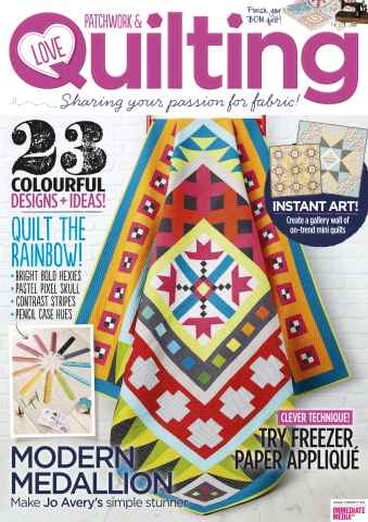 Love Patchwork & Quilting issue Issue 26