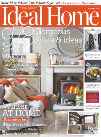 Ideal Home issue November 2015