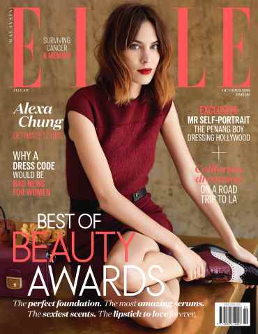 ELLE Malaysia issue The October Issue