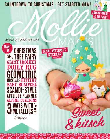 Mollie Makes issue Issue 58