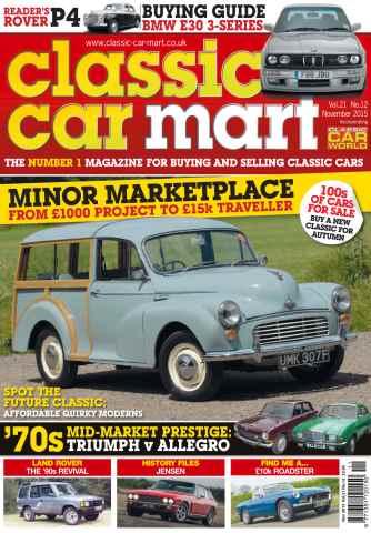 Classic Car Mart issue Vol. 21 No. 12 Minor Marketplace