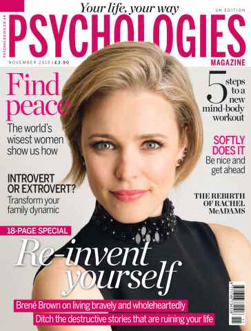 Psychologies issue No. 122 Re-invent yourself