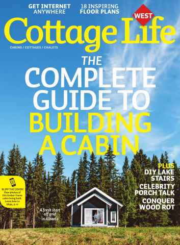 Cottage Life West issue Fall 2015