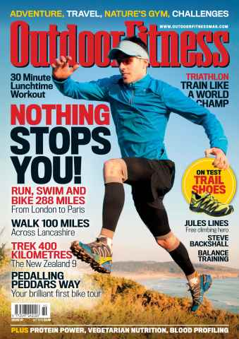 Outdoor Fitness issue No. 47 Nothing stops you!