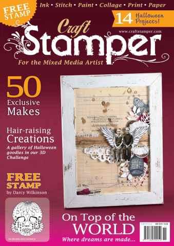 Craft Stamper issue November 2015