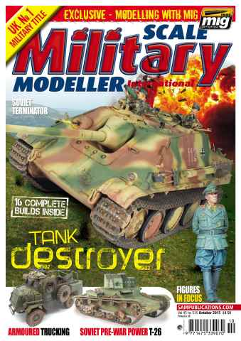 Scale Military Modeller Internat issue SMMI Vol 45 Iss 535 October 2015