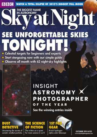 BBC Sky at Night Magazine issue October 2015