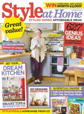 Style at Home issue November 2015