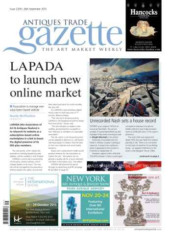 Antiques Trade Gazette issue 2209
