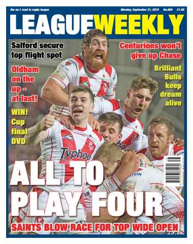 League Weekly issue 21 September 2015