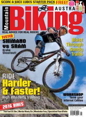 Mountain Biking Australia issue Nov/Dec/Jan 2015/16