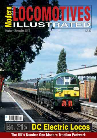 Modern Locomotives Illustrated issue Issue 215