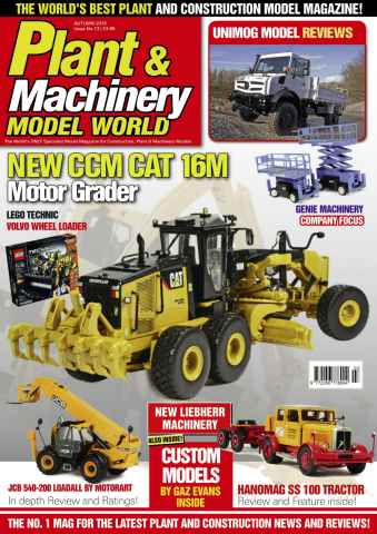 Plant & Machinery Model World issue Autumn 15