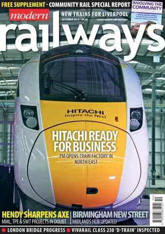 Modern Railways issue October 2015