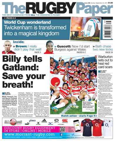 The Rugby Paper issue 20th September 2015