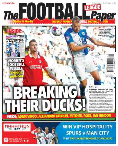 The Football League Paper issue 20th September 2015