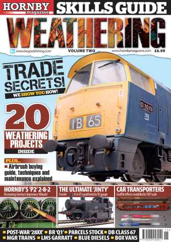 Hornby Magazine issue Weathering Vol 2