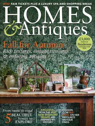 Homes & Antiques Magazine issue October 2015
