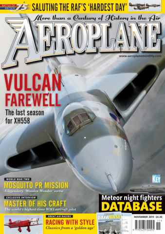 Aeroplane issue November 2015
