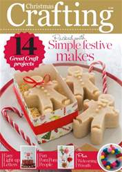The Christmas Magazine issue Christmas Crafting 2015