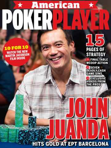 American PokerPlayer issue September 2015