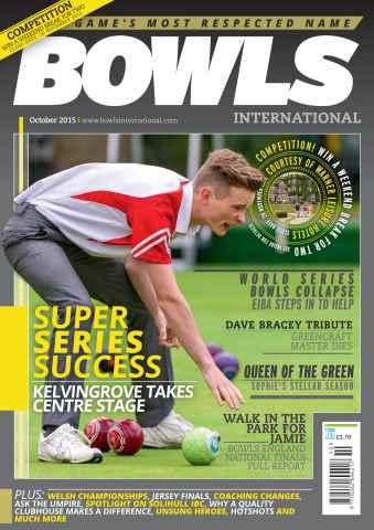Bowls International issue October 2015