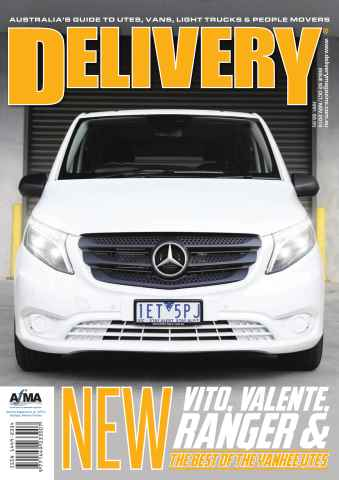 Delivery Magazine issue Issue 62 OCT/NOV 2015