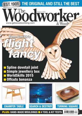 The Woodworker Magazine issue Autumn Special 2015