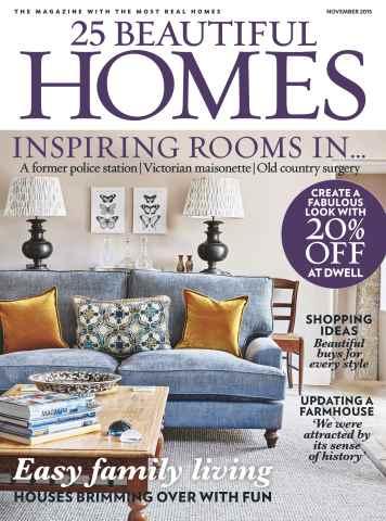 25 Beautiful Homes issue November 2015