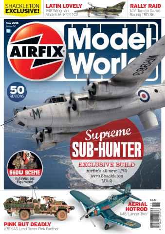 Airfix Model World issue November 2015