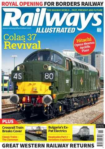 Railways Illustrated issue November 2015
