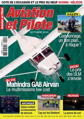 Aviation et Pilote issue October 2015
