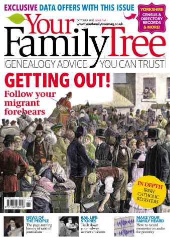 Your Family Tree issue October 2015
